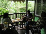 10 Guests Enjoying Lepcha Breakfast