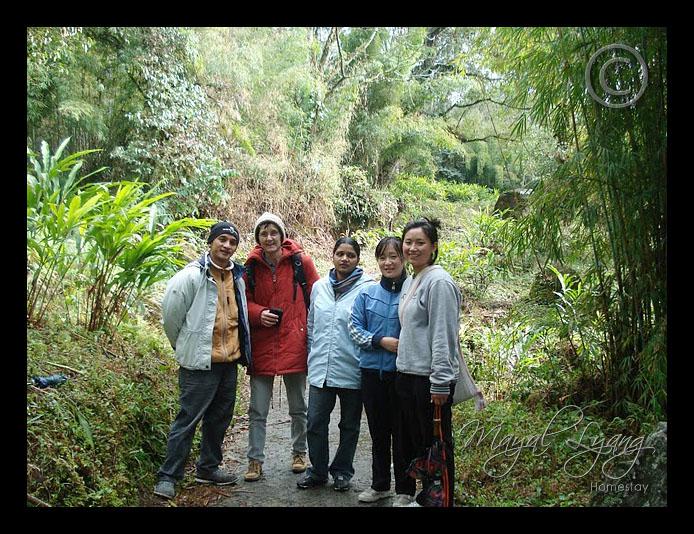 Enjoying nature in Dzongu